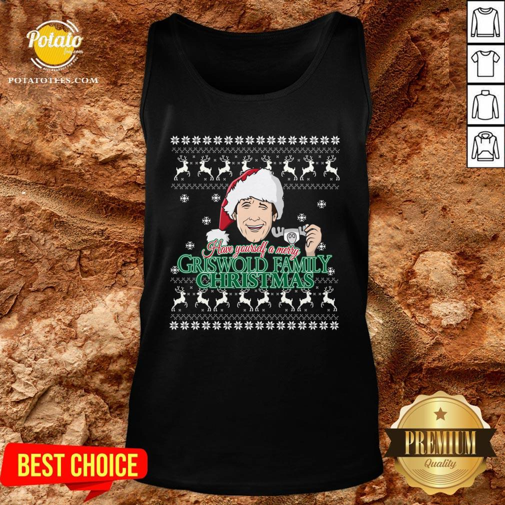 Good Have Yourself A Merry Griswold Family Ugly Christmas Tank Top - Design By Potatotees.com