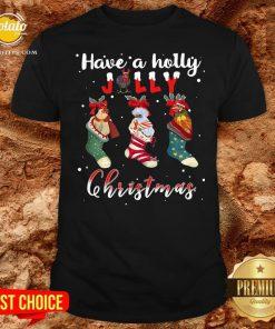 Good Santa Shoes Have A Holly Jolly Christmas Shirt - Design By Potatotees.com