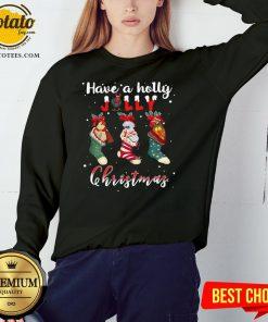 Good Santa Shoes Have A Holly Jolly Christmas Sweatshirt - Design By Potatotees.com