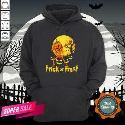 Halloween Trick Or Treat Jack O Lantern Pumpkin Hoodie