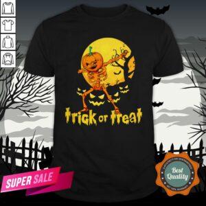 Halloween Trick Or Treat Jack O Lantern Pumpkin Shirt