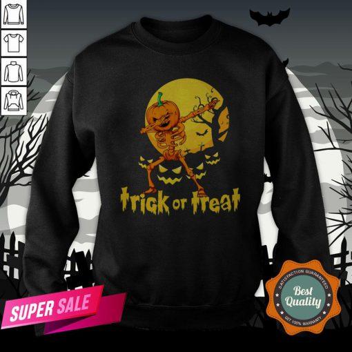 Halloween Trick Or Treat Jack O Lantern Pumpkin SweatshirtHalloween Trick Or Treat Jack O Lantern Pumpkin Sweatshirt