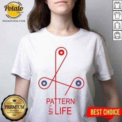 Happy Pattern Of My Life V-neck - Design By Potatotees.com