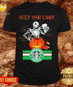 Jack Skellington Keep Your Candy I'll Have Starbuck Coffee Shirt - Design By Potatotees.com
