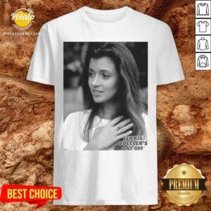 Love Ferris Bueller's Day Off Sloane Peterson Portrait Shirt - Design By Potatotees.com