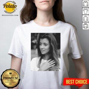 Love Ferris Bueller's Day Off Sloane Peterson Portrait V-neck - Design By Potatotees.com