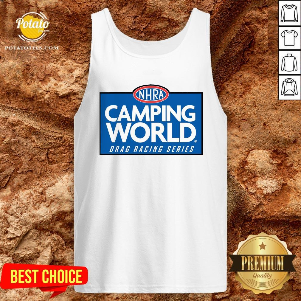 Love NHRA Camping World Drag Racing Series Tank Top - Design By Potatotees.com