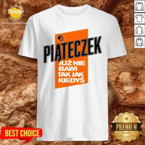Love Piąteczek Biała Koszulka Męska Shirt - Design By Potatotees.com