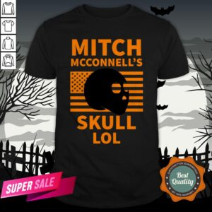 Mitch McConnell'S Skull LOL Halloween Vintage Shirt