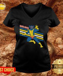 Nice Mer Man Masters Of The Universe V-neck - Design By Potatotees.com