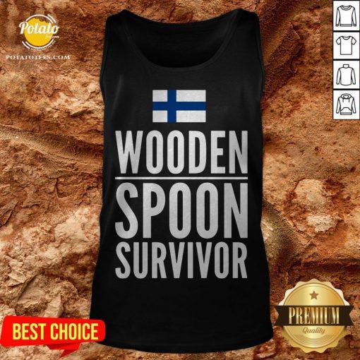 Nice Wooden Spoon Survivor Tank Top - Design By Potatotees.com