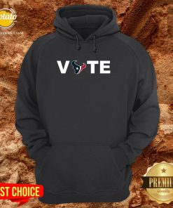 Official Houston Texans Vote Tee Hoodie - Design By Potatotees.com