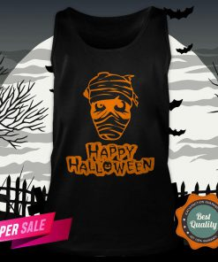 Official Zombie Happy Halloween Tank Top