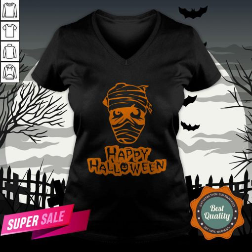 Official Zombie Happy Halloween V-neck