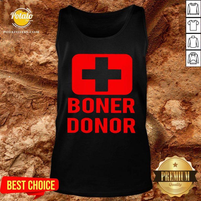 Perfect Boner Donor Tank Top - Design By Potatotees.com