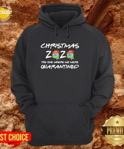 Perfect Christmas 2020 The One Where We Were Quarantined Hoodie - Design By Potatotees.com