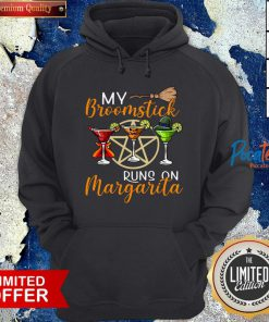 Wines My Broomstick Runs On Margarita Supernatural Halloween Hoodie - Design By Potatotees.com