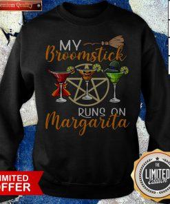 Wines My Broomstick Runs On Margarita Supernatural Halloween Sweatshirt - Design By Potatotees.com