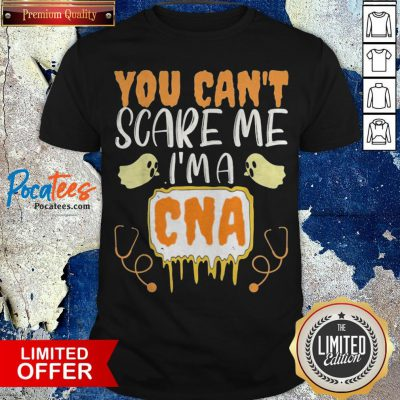 You Cant Scare Me I'm A CNA Halloween Nurse Shirt - Design By Potatotees.com