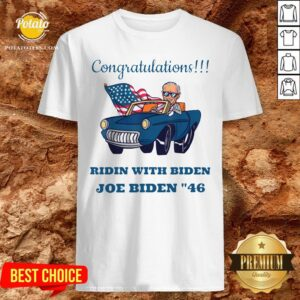Awesome Congratulations Mr President Joe Biden Forty-six 46th Shirt - Design By Potatotees.com