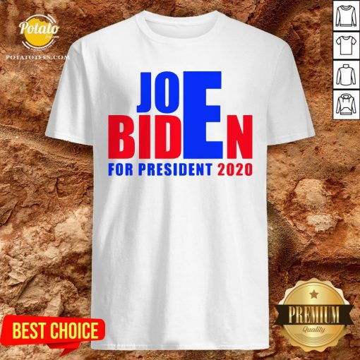 Awesome For President 2020 Joe Biden Win Trump Shirt - Design By Potatotees.com