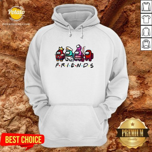 Beautiful Among Us Friends Hoodie - Design By Potatotees.com