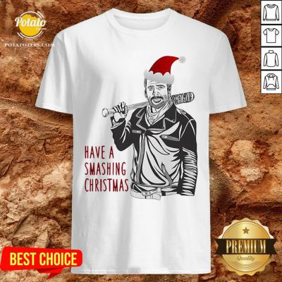 Beautiful Have A Smashing Christmas Shirt - Design By Potatotees.com