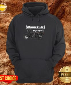 Funny Triumph Bonneville T120 Motorcycle Hoodie - Design By Potatotees.com