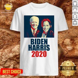 Great Biden Harris 2020 Election Democrat Shirt - Design By Potatotees.com
