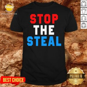 Great Stop The Steal Trump 2020 Election Shirt - Design By Potatotees.com