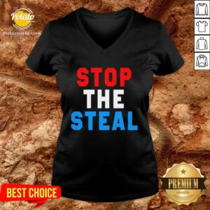 Great Stop The Steal Trump 2020 Election V-neck - Design By Potatotees.com