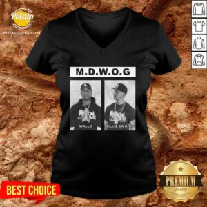Happy Million Dollaz Worth Of Game Mugshot V-neck - Design By Potatotees.com