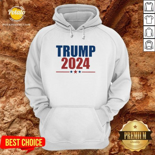 Hot Donald Trump 2024 Hoodie - Design By Potatotees.com