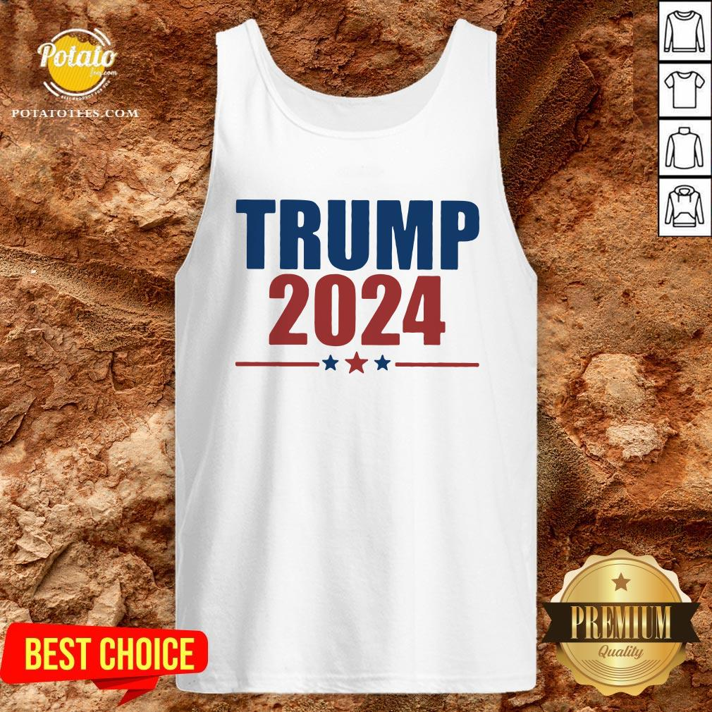 Hot Donald Trump 2024 Tank Top - Design By Potatotees.com