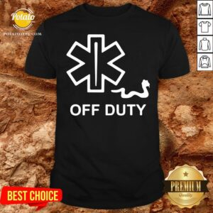 Hot Pharmacy Off Duty Shirt - Design By Potatotees.com