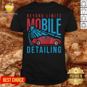 Nice Beyond Limits Mobile Detailing Shirt - Design By Potatotees.com