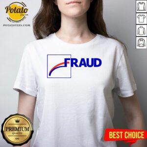 Official Fraud 2020 V-neck - Design By Potatotees.com