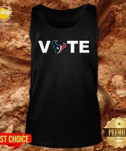 Official Houston Texans Vote Tank Top - Design By Potatotees.com