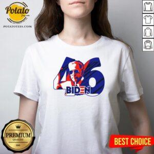 Original Joe Biden 46th Us President 2020 V-neck - Design By Potatotees.com