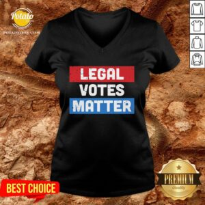 Original Legal Votes Matter V-neck - Design By Potatotees.com