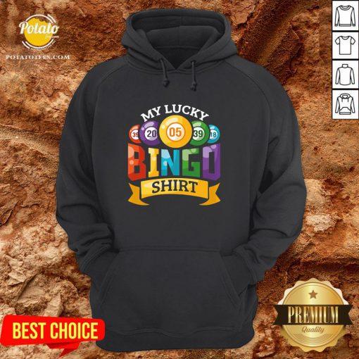 Original My Lucky Bingo Hoodie - Design By Potatotees.com