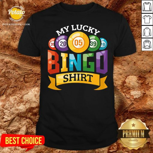 Original My Lucky Bingo Shirt - Design By Potatotees.com