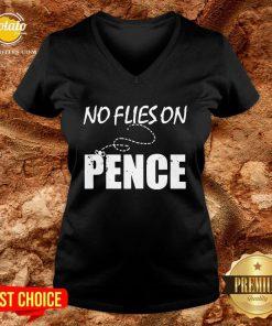 Original No Flies On Pence V-neck - Design By Potatotees.com