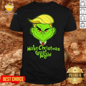 Perfect Grinch Trump Make Christmas Great Again Shirt - Design By Potatotees.com