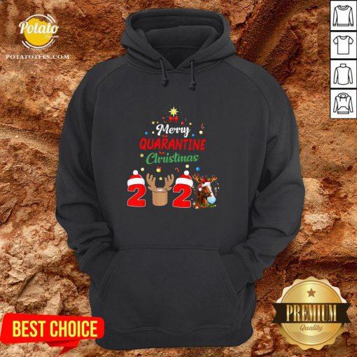 Perfect Merry Quarantine Christmas 2020 Hoodie - Design By Potatotees.com