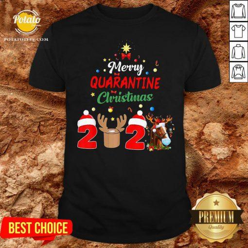 Perfect Merry Quarantine Christmas 2020 Shirt - Design By Potatotees.com