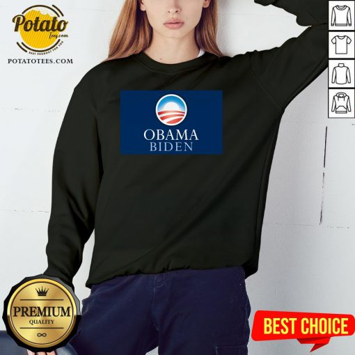 Pretty Obama Biden President 46 America Sweatshirt - Design By Potatotees.com