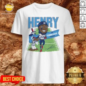 Top Derrick Henry The Tennessee Terror Signature Shirt - Design By Potatotees.com