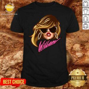 Drag Queen Merch Store Willam Logo Dress Shirt - Design by Potatotees.com