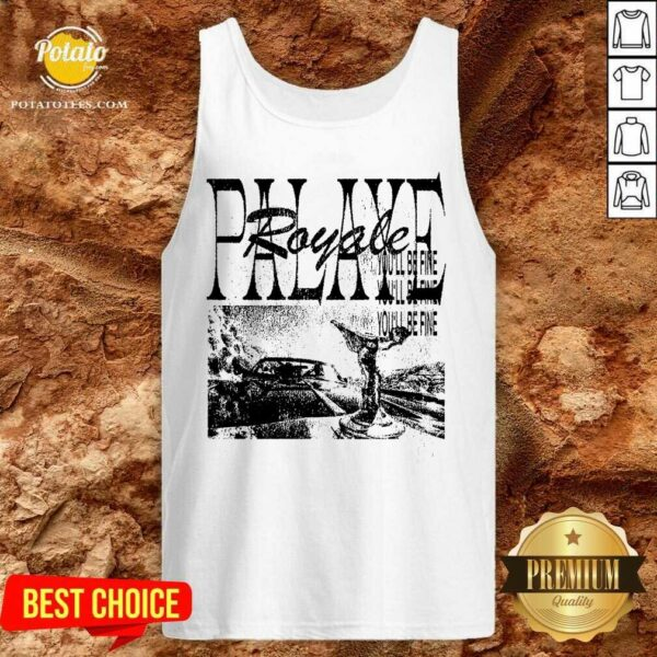 Palaye Royale Merch You'll Be Fine Tank-Top- Design by Potatotees.com